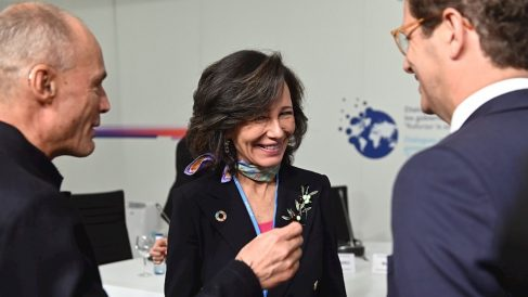 La presidenta del Banco Santander, Ana Botín, en la Cumbre del Clima Madrid 2019.