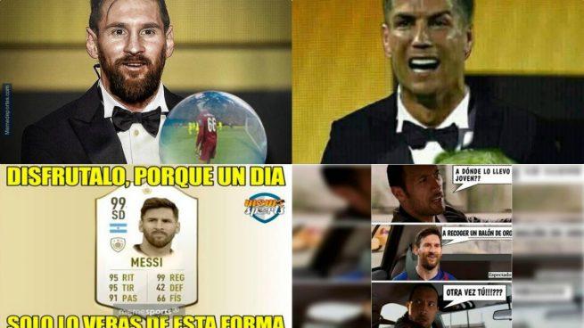 Los mejores memes de la gala del Balón de Oro 2019