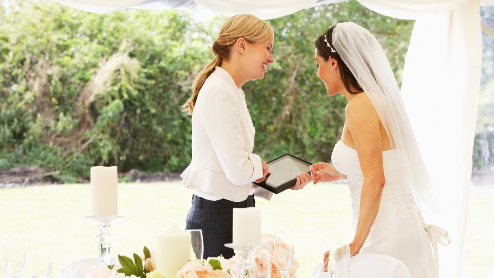 Organizar una boda requiere mucho tiempo y dedicación