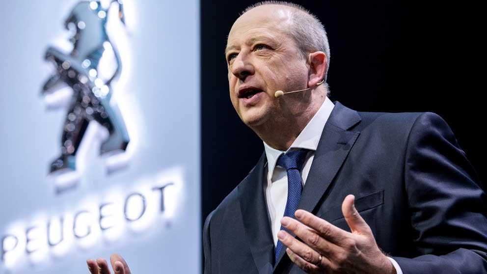 Jean-Philippe Imparato, CEO de Peugeot. Foto: AFP