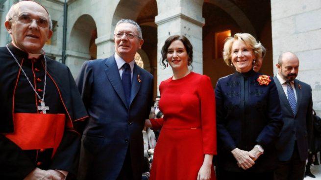 Isabel Díaz Ayuso, Alberto Ruíz Galardón y Esperanza Aguirre