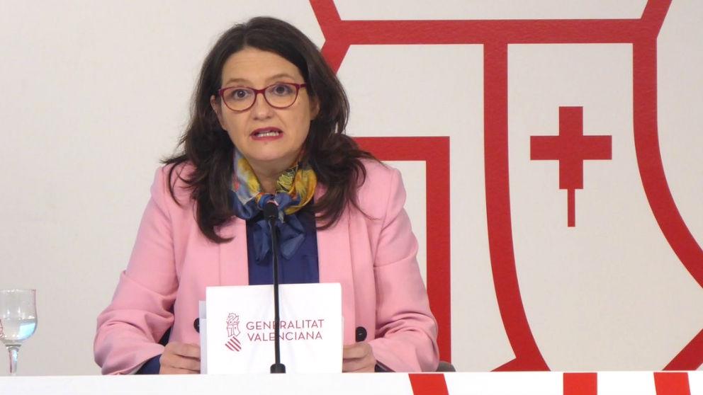 La vicepresidenta primera de la Generalitat Valenciana, Mónica Oltra. (Foto: Europa Press).