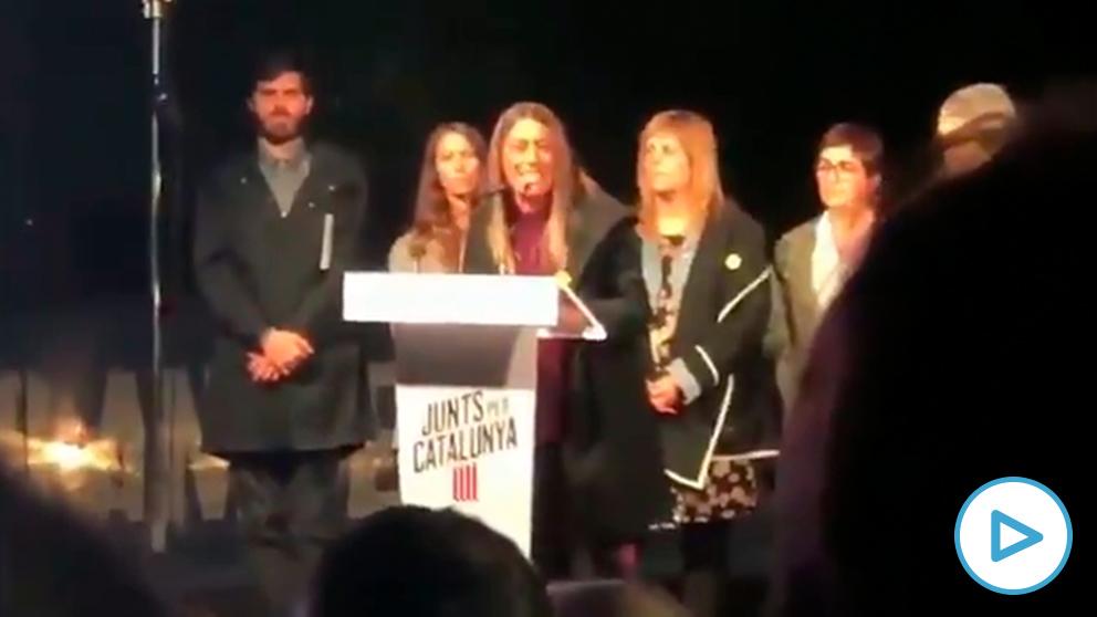 Míriam Nogueras, dirigente del PDeCAT, llamó hace un mes «ratas» a políticos, jueces y periodistas españoles.
