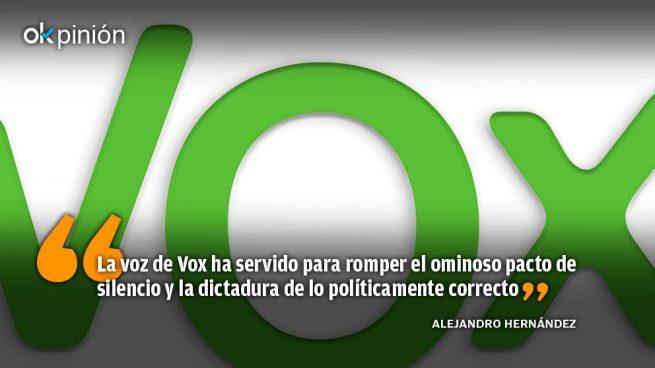 La utilidad de votar a Vox en Andalucía
