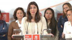 Imagen de archivo de Pilar Llop durante un acto del PSOE de Madrid. (Foto: Europa Press)
