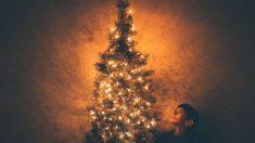 Árbol de Navidad.