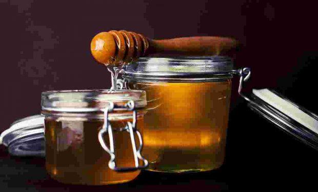 Huevos fritos con miel