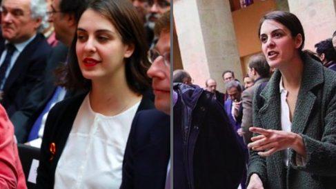 Rita Maestre en 2018 y 2019.