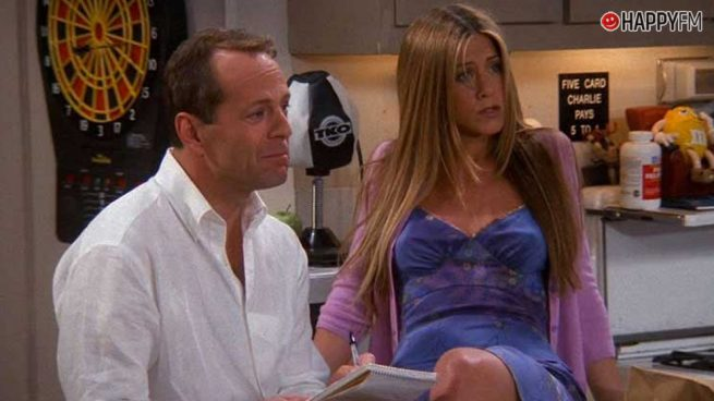 Bruce Willis participó en 'Friends' y la razón te sorprenderá muchísimo