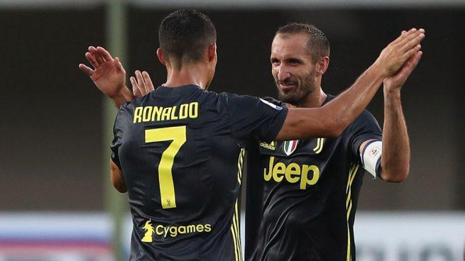 Rajada de Chiellini: «Cristiano no ganó el Balón de Oro el año pasado porque el Real Madrid no quiso»