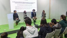 Ignacio Cubero (Instituto Los Castillos), Begoña Muñoz de Berguer (Fundación Endesa), Fernando López Mirones (biólogo y profesor) y Mercedes Esteban (Sociedad y Educación)