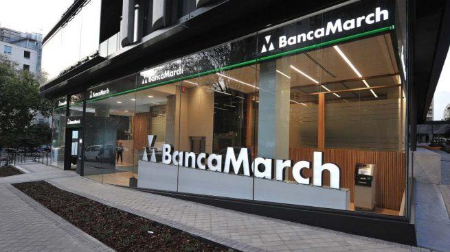 Entidad de Banca March en la calle Juan Bravo de Madrid @BancaMarch