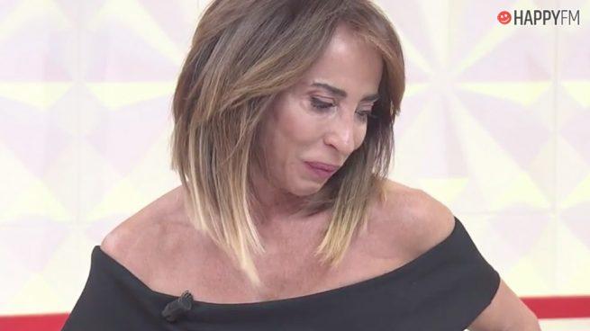 María Patiño, a lágrima viva en 'Socialité' tras realizar este encuentro