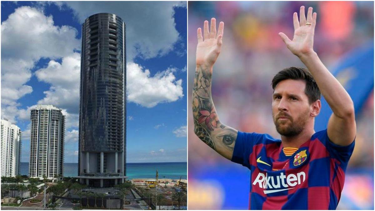 Messi y el piso que se ha comprado en Miami.