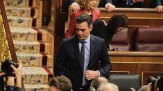 Pedro Sánchez durante el arranque de la XIV legislatura . (Foto: Francisco Toledo)