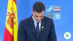 Pedro Sánchez en la Cumbre de la OTAN en Londres