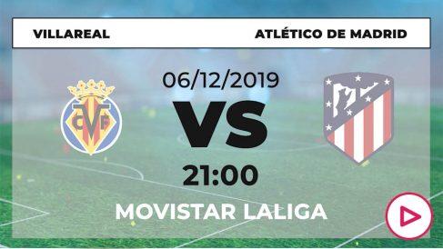 Liga Santander: Villarreal – Atlético| Horario del partido de fútbol de Liga Santander.