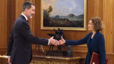 Batet acude a Zarzuela para informar al Rey. Foto: EP