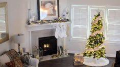 El árbol es el elemento decorativo más importante en Navidad