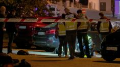 Escena del crimen en Marbella. Foto EFE