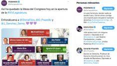 La infografía de OKDIARIO que se ha apropiado Podemos en las redes sociales.