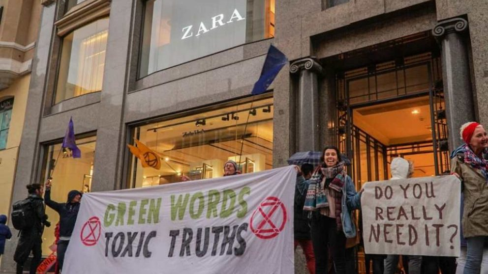 Asalto a Zara en Gran Vía.