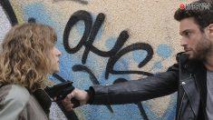 Álvaro y Elvira en 'Servir y proteger'