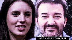 Irene Montero y el abogado de Podemos José Manuel Calvente