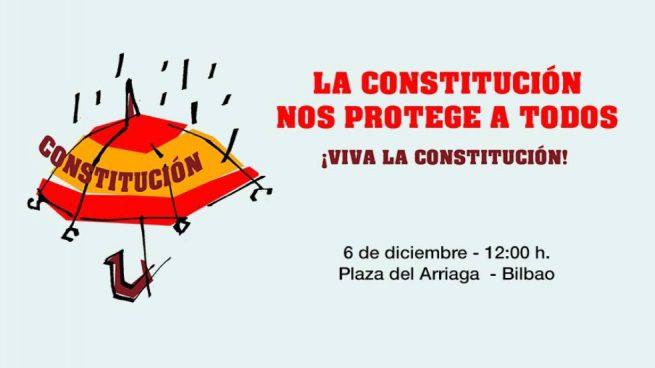 Acto por la Constitución en Bilbao