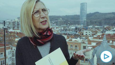 Cake Minuesa entrevista a Rosa Díez en Bilbao.