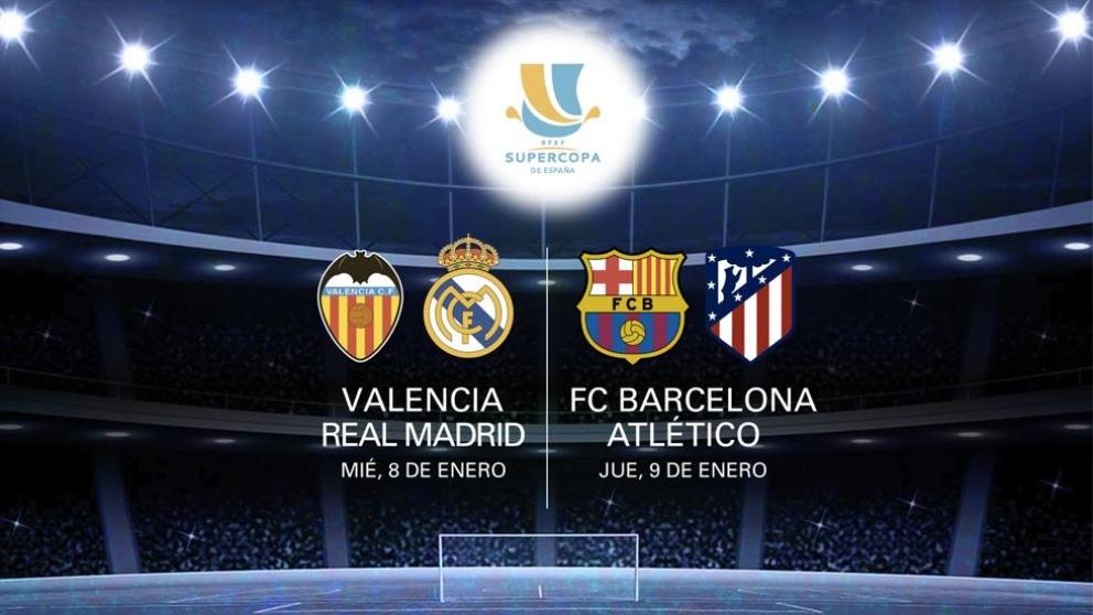 Movistar se ha hecho con los derechos de la Supercopa de España 2020
