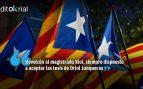 Tirón de orejas del TC al magistrado afín al independentismo