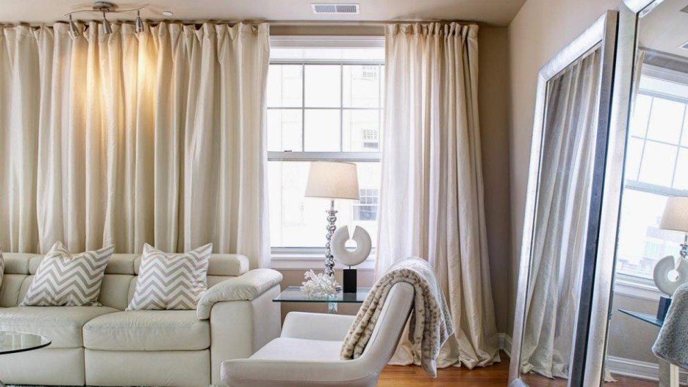 Las cortinas son un elemento muy importante en la decoración