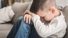 Efecto psicológico de los gritos en niños
