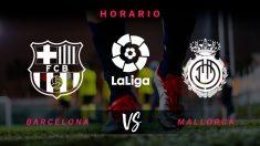 Liga Santander: Barcelona – Mallorca| Horario del partido de fútbol de Liga Santander.