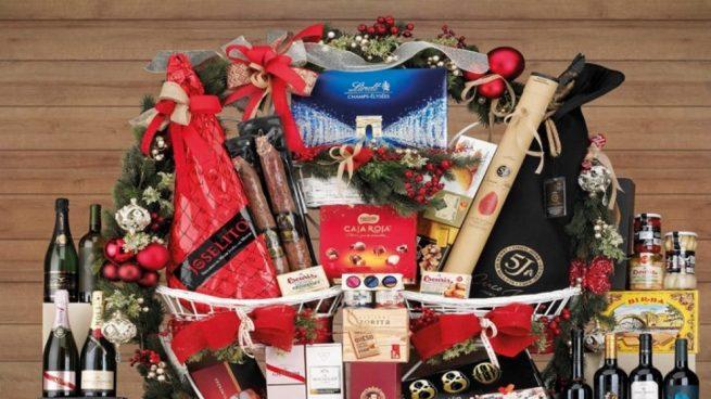 elegir una cesta de Navidad