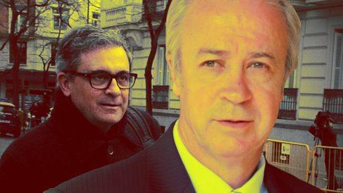 Jordi Pujol Ferrusola (hijo mayor del ex presidente de la Generalitat) y el empresario Carles Tusquets Trias de Bes.
