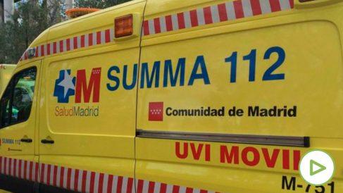 Ambulancia del SUMMA 112. Foto: EP