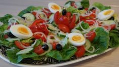 Receta de Ensalada murciana de tomate