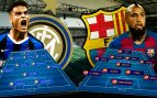 Inter de Milán- Barcelona: Pasarela en Milán