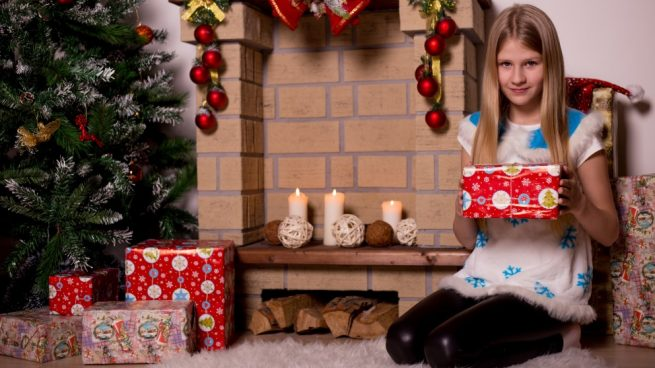 elegir los juguetes en Navidad