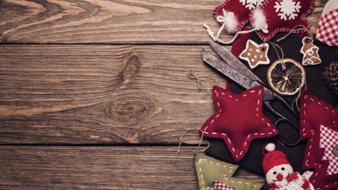 Hacer una estrella de Navidad