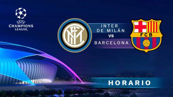 Horario Inter Barcelona