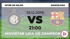 Inter – Barcelona: Horario del partido de fútbol de Champions League hoy