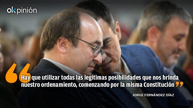 El indigno pacto de Sánchez e Iceta