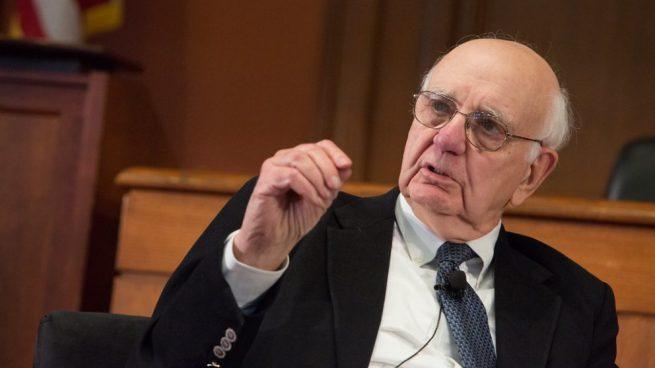 Uno de los pilotos de la crisis de 2008 — Paul Volcker