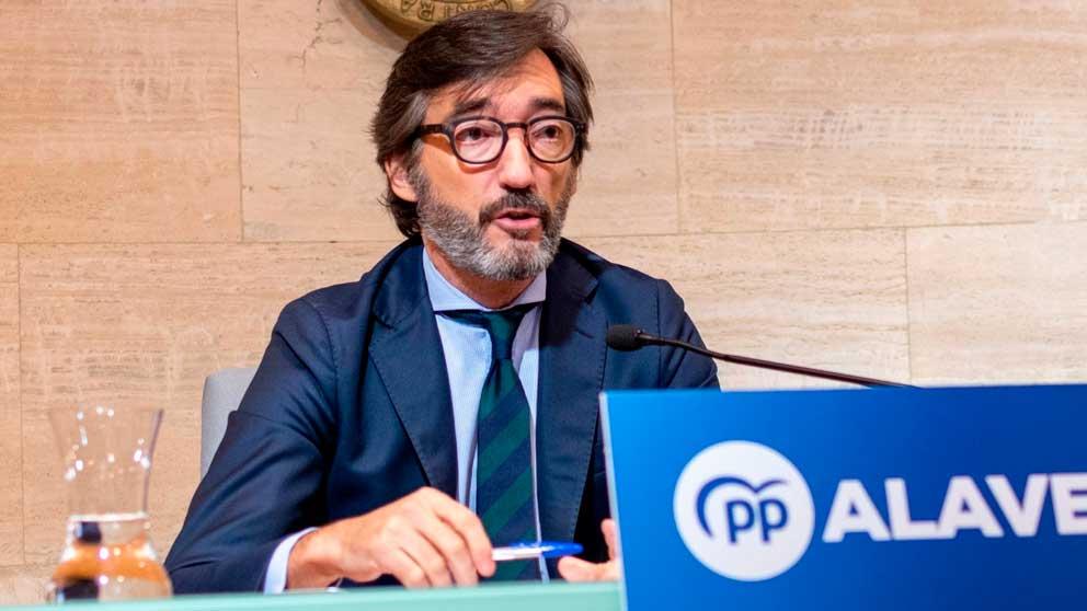 El presidente del PP de Álava, Iñaki Oyarzabal. Foto: EP