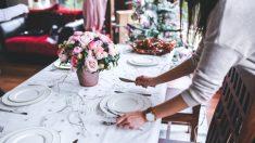 Organizar una cena de Navidad en casa es una gran responsabilidad