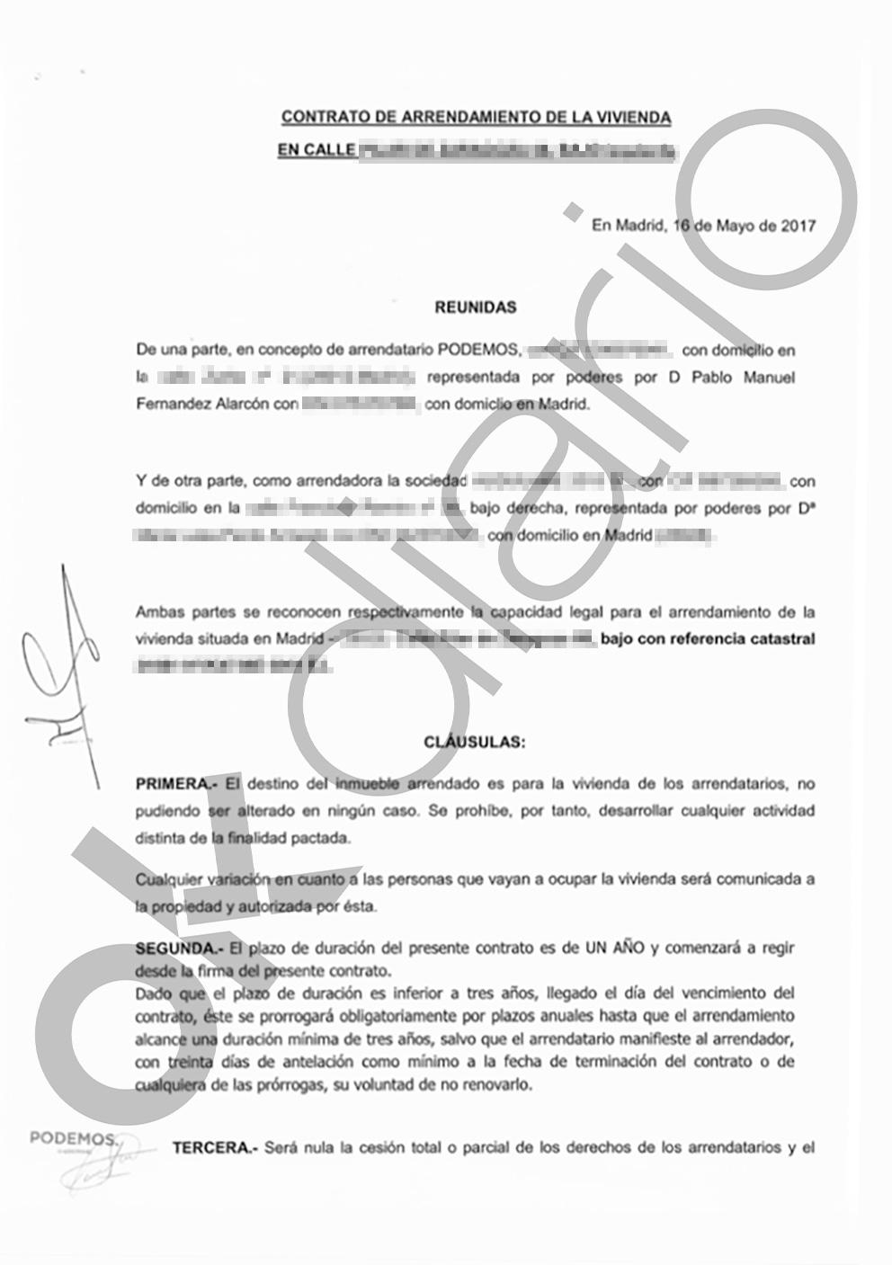 Echenique se hizo un Monedero: 'olvidó' declarar el piso pagado por Podemos hasta que el abogado lo descubrió