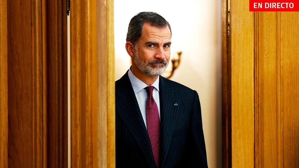 Ronda de consultas del Rey, en directo: Pedro Sánchez visita a Felipe VI para su investidura